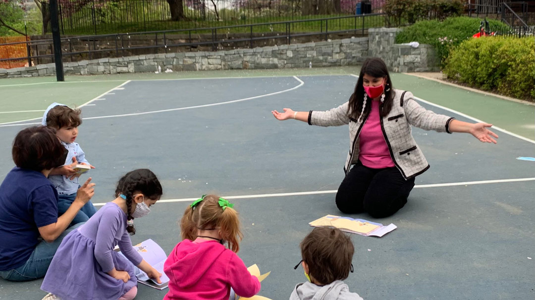 FRP Outdoor Story Time with Council Member Pinto